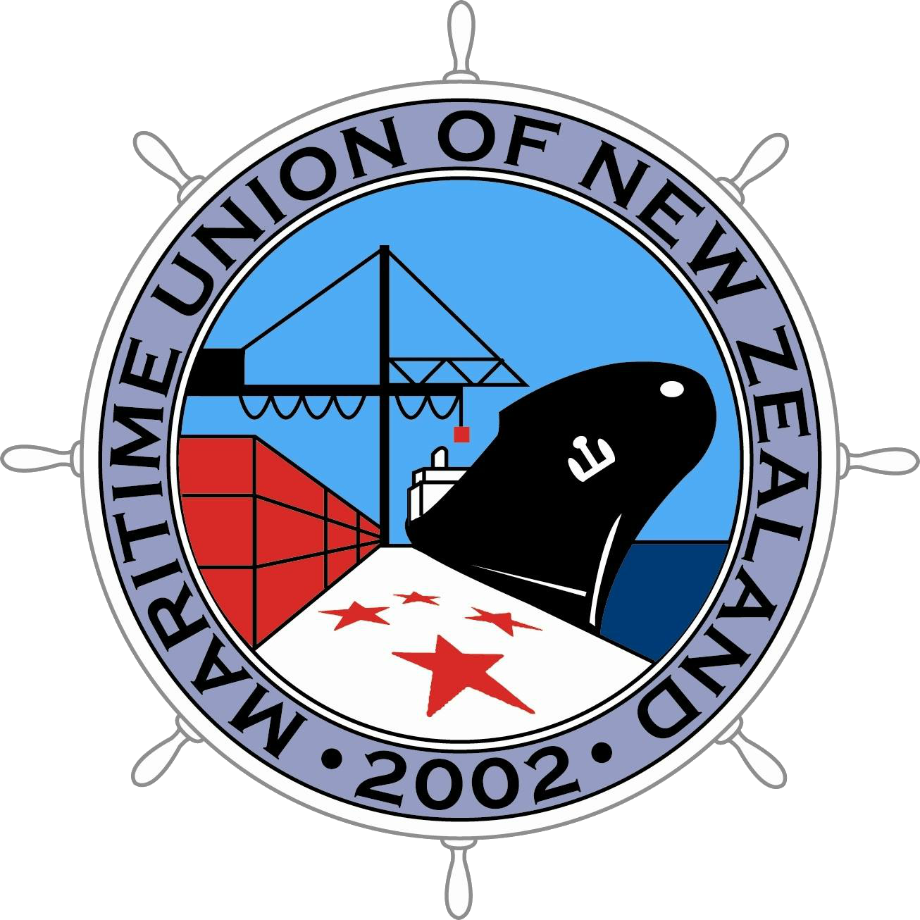 Maritime Union of New Zealand logo